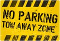 No Parking, Tow Away Zone Royalty Free Stock Images - 46502909