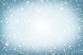Christmas Background. Winter Sky, Snowflakes And Stars Royalty Free Stock Images - 46526419