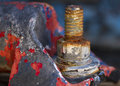 Rusty Bolt Royalty Free Stock Image - 46566056