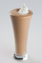 Iced Chocolate Coffee Frappe Drink Stock Image - 46576771