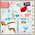 South Africa Infographics, Statistical Data, Sights Stock Photos - 46577353