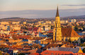 View Of Saint Michael S Church In Cluj-Napoca Stock Images - 46584034