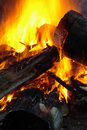 Close-up Of Fire And Flames Royalty Free Stock Photos - 4665948