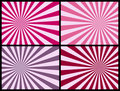Rays Background [Pink] Stock Photography - 4666012