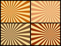 Rays Background [Warm Colors] Stock Photo - 4666060