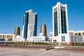 Modern Buildings On Nurzhol Boulevard In Astana. Kazakhstan Royalty Free Stock Photo - 46604605