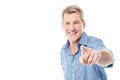 Handsome Man Pointing To You Stock Images - 46616644