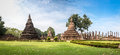 Sukhothai Historical Park, The Old Town Of Thailand,Mahatat Temple Stock Image - 46617761