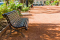 Bench In A City Park Royalty Free Stock Photo - 46627925