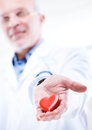 Doctor With Heart Stock Photos - 46630313