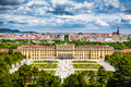 Famous Schonbrunn Palace In Vienna, Austria Royalty Free Stock Photo - 46630325