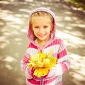 Cute Little Girl Royalty Free Stock Photography - 46634627