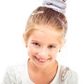 Cute Little Girl Royalty Free Stock Photography - 46640967