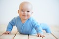 Happy Baby With A Beaming Smile Stock Photo - 46641870