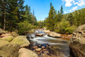 Mountain Stream Royalty Free Stock Image - 46644096
