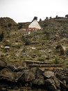 Large Stupa In The Traditional Himalayan Town Marpha Royalty Free Stock Photo - 46671005