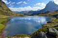 Lake Gentau In The French Pyrenees Royalty Free Stock Photos - 46671928