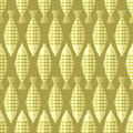 Fish Background. Gold Background. Vector Seamless Pattern Stock Photography - 46672552