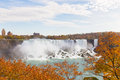 American Falls In The Fall Stock Photos - 46681453