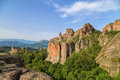 Belogradchik Rocks In The Early Morning Stock Images - 46684014