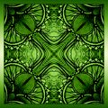 Vector Background With Ornament. Green Background Stock Image - 46689031