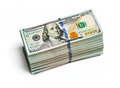 Bundles Of 100 US Dollars 2013 Edition Banknotes Royalty Free Stock Images - 46713819