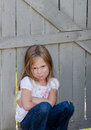 Child With An Attitude Royalty Free Stock Photography - 46714717