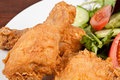 Fried Chicken Close Up Royalty Free Stock Photography - 46728417