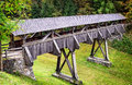 Covered Bridge Royalty Free Stock Images - 46733569