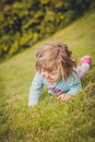Rolling Down On The Grass Stock Photos - 46740773