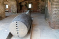 Fort Cannon In Bunker Royalty Free Stock Photography - 46749397