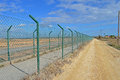 Perimeter High Security Fencing Royalty Free Stock Photos - 46761128