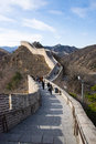 Asia China, Beijing, Historic Buildings,badaling The Great Wall Royalty Free Stock Photos - 46761148