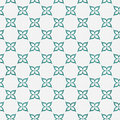 Teal And White Flower Repeat Pattern Background Royalty Free Stock Photos - 46762308