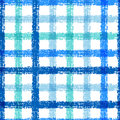Seamless Pencil Sketch Plaid Pattern With Colorful Stripes. Vect Royalty Free Stock Images - 46764309