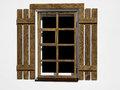 Wood Window Royalty Free Stock Photography - 46774017