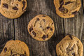 Chocolate Chip Cookies Stock Photography - 46774422
