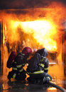 Firefighters Stock Image - 46775131