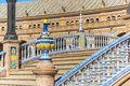 Spain Square In Seville, Andalusia, Spain. Stock Images - 46783164