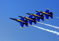 Blue Angel Airshow At Robins AFB Royalty Free Stock Photography - 46785487
