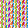 Striped Drinking Straws Background Royalty Free Stock Image - 46794426