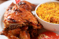 Grilled Chicken And Rice Stock Images - 4681134