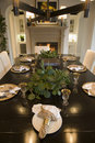 Luxury Home Dining Room. Royalty Free Stock Image - 4685576