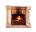 Fireplace Royalty Free Stock Photography - 46833297