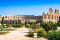 Tunisia. El Jem (ancient Thysdrus). Ruins Of The Largest Colosse Stock Photography - 46835442
