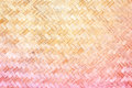 Texture Of Bamboo Weave Stock Photography - 46840522