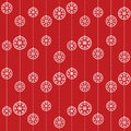 Christmas Baubles Pattern Royalty Free Stock Photo - 46842425