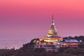 Wat Thaton In The Sunset, Thailand Royalty Free Stock Photo - 46855065