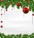 Christmas Background With Spruce Branches. Stock Photos - 46868803