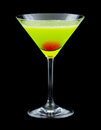 Japanese Slipper Cocktail Royalty Free Stock Images - 46870459